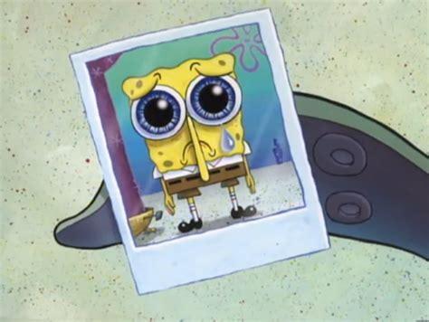embarrassing snapshot of spongebob at the the secret box encyclopedia spongebobia the spongebob
