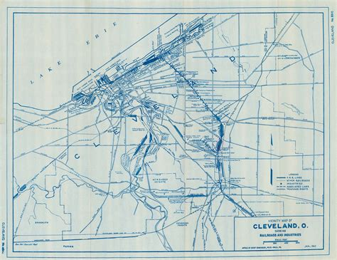 cleveland map cleveland rr maps