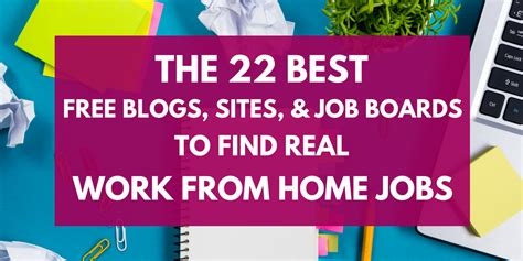 Jobs Online Work From Home For Free - where to find work from home jobs 22 of the best free sites job boards and blogs