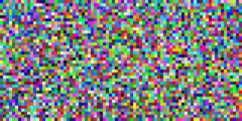 random color code golf display random colored pixels programming