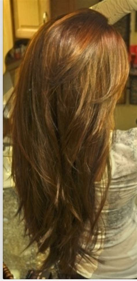 i want to see the back of layered hair cuts layered haircut back view