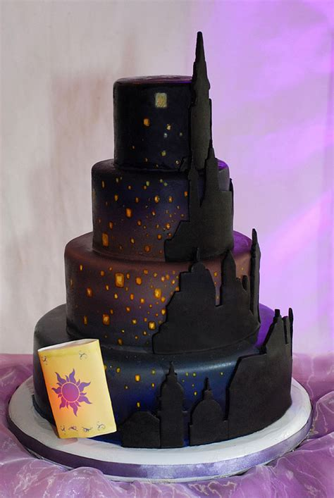 tangled cake disney  day