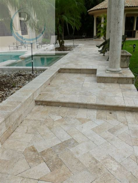 17 best ideas about travertine pavers on