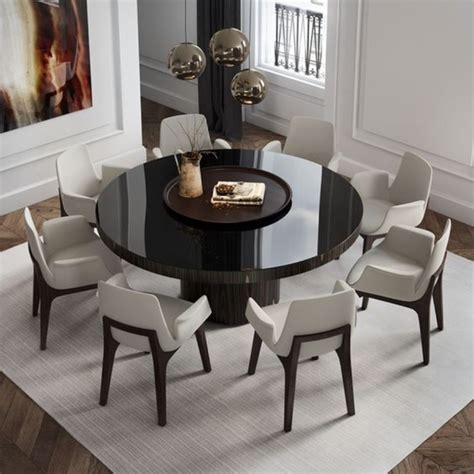 contemporary dining tables   dining room