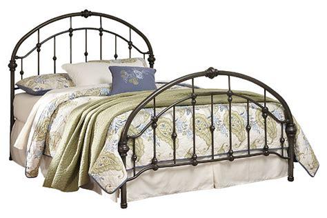 king metal headboard nashburg king metal bed furniture homestore