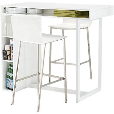 cb2 kitchen island sort of a kitchen island desk hybrid this public white