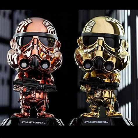 Toys Cosbaby Iron I Metallic Colour Version Bobble toys wars stormtrooper metallic color version cosbaby s bobble
