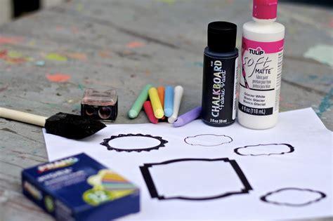 diy chalkboard t shirt diy erasable chalkboard t shirt and giveaway debis