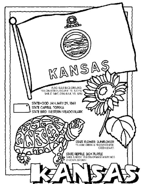 K State Coloring Pages by Kansas Coloring Page Crayola