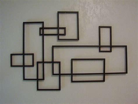 modern wall art mid century modern de stijl style geometric metal wall
