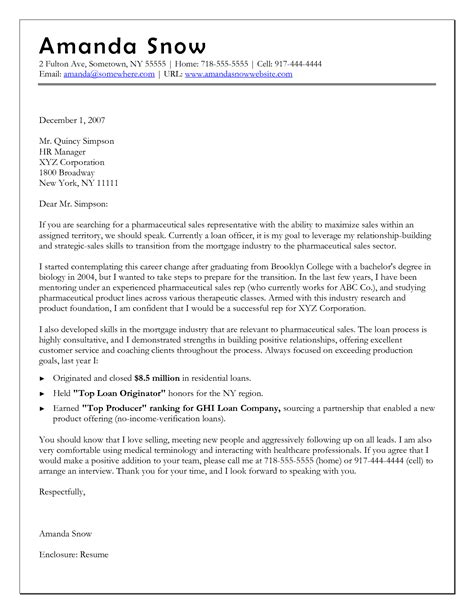 Cover Letter For New Career by Career Change Cover Letter Template Images Exles