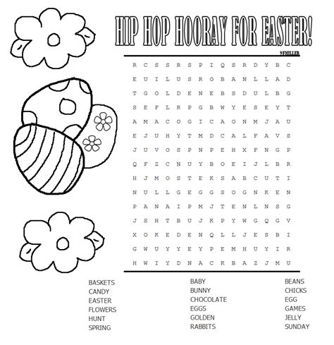 free printable easter word search worksheets kids easter word search printable