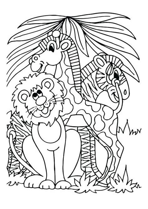 coloring page zebra images