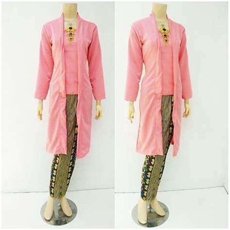 Kebaya Batik Panjang 1 jual kebaya batik baloteli panjang grosir batik