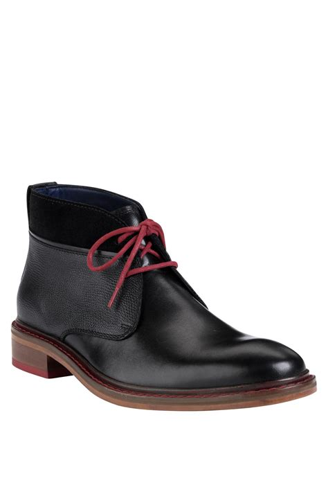 cole haan chukka boots cole haan air colton winterized chukka boot in black for
