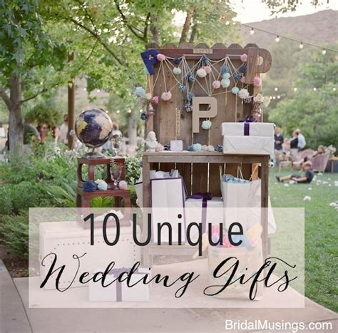 Wedding Gift Ideas Best by 10 Unique Wedding Gifts Bridal Musings Wedding