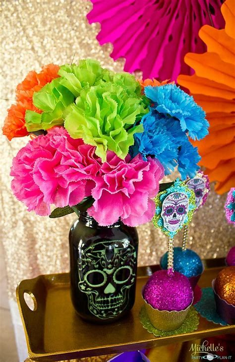 How To Decorate For Dia De Los Muertos by Day Of The Dead S Plan It
