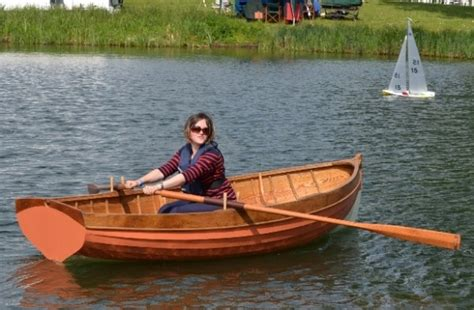 rowboat riddle new build traditional clinker wooden rowing boat for sale