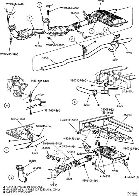 2003 ford escape exhaust system diagram ford escape exhaust diagram images