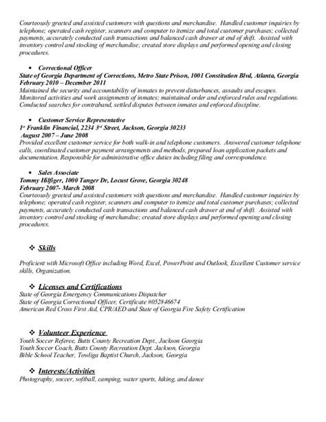Department Store Sales Associate Sle Resume by Resume For Department Store Sales Associate
