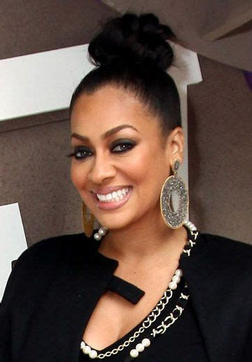 Lala Anthony Hairstyles by Hair The Topknot Is Back La La Anthony High Bun