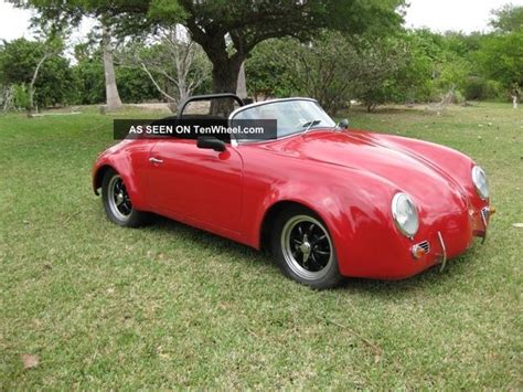 porsche california speedster 1955 porsche 356 speedster california replica 1915