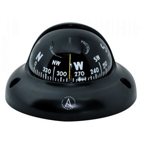 best small boat compass autonautic instrumental c3001 surface mount compass black