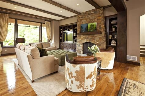 modern rustic living room rustic contemporary country home hendel homes