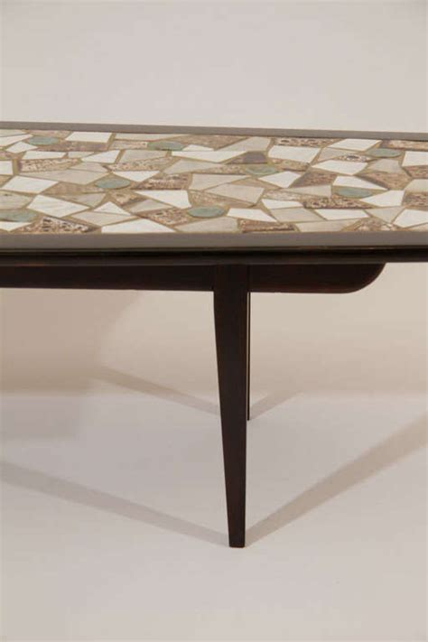 Mosaic Tile Coffee Table Mosaic Tile Top Coffee Table For Sale At 1stdibs
