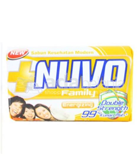 Sabun Nuvo adabelanja nuvo family energizing sabun batangan 80g shopping start from here
