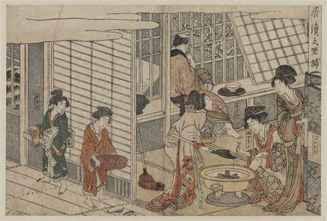 belles japonaises les maisons vertes demeures des