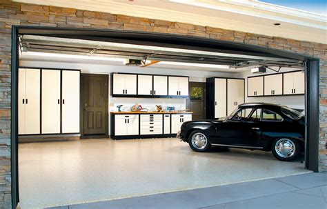 living in a garage about garage living