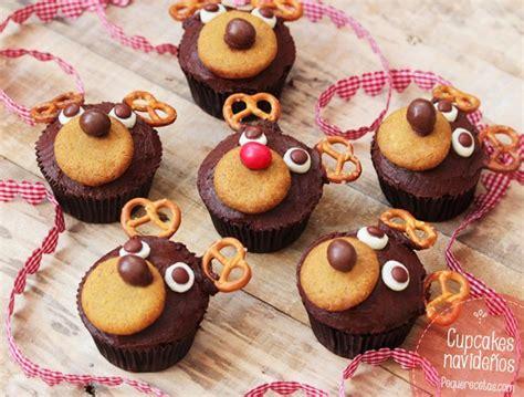 decorar cup cakes faciles recetas de navidad para ni 241 os 161 cupcakes de chocolate