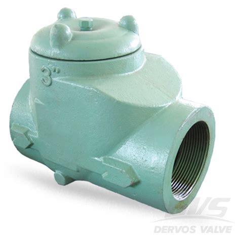 10 swing check valve swing check valve 3 inch class 150 npt wcb dervos
