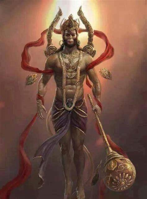 bajrangbali tattoo jai hanuman indian art pinterest jai hanuman and hanuman