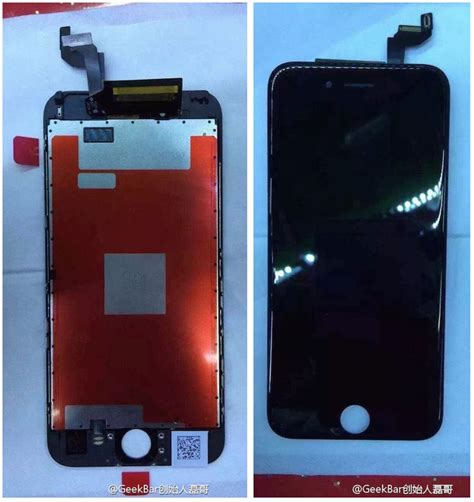 claimed iphone 6s display assembly revealed in new photos mac rumors