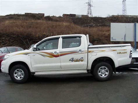 used toyota used toyota hilux pick up