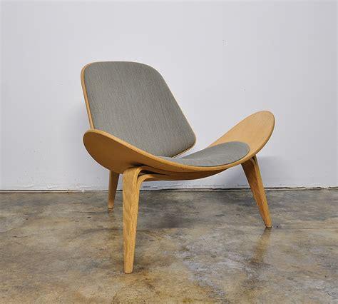 select modern hans wegner ch shell lounge chair