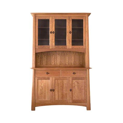 Cherry Moon China Cabinet And Sideboard 51 Vermont Woods Cherry Buffet Cabinet