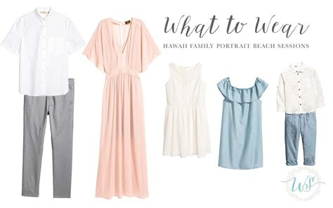 Sprei Set Flowy Big by What To Wear For Your Hawaii Family Portrait Session