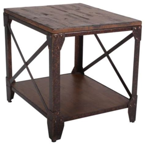 Pinebrook Coffee Table Magnussen Pinebrook End Table Homemakers Furniture