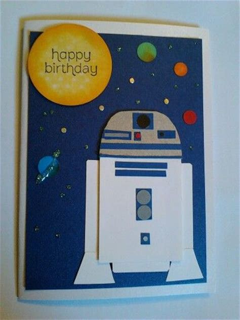 R2d2 Birthday Card 39 Best Card Star Wars Star Trek Images On Pinterest