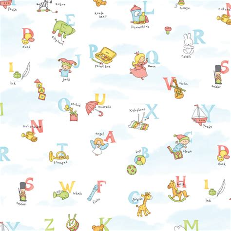 colorful patterned wallpapers for kids rooms by allison krongard digsdigs alphabet pattern self adhesive wallpapers for kids rooms