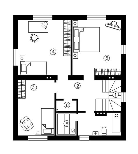 Simple 2 Story House Plans Smalltowndjs Com