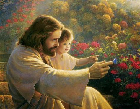 imagenes hermosas de jesus hermosas pinturas de jes 250 s con ni 241 os y ni 241 as la parte