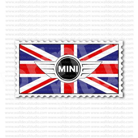 Soho Stiker Emblem Skull Cooper uk mini cooper emblem flag sticker