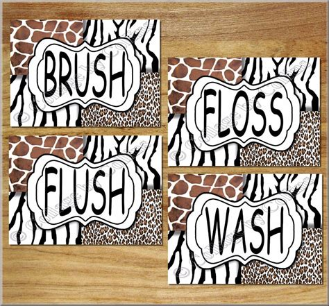 zebra print bathroom wall decor 2016 bathroom ideas leopard zebra giraffe animal prints wall art bathroom