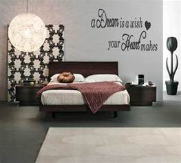 wall hangings for bedrooms vinyl lettering wall art words text quote stickers bedroom