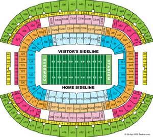 Pics photos new dallas cowboys stadium seating chart arlington 2009