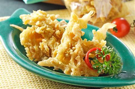 resep jamur crispy renyah  tahan  nyari bisnis